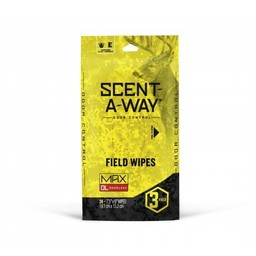Hunter Specialties Scent A Way Odor Contor Field Wipes (3 Field)