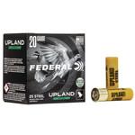 """Federal Upland 20 Gauge, 2 3/4"""", 3/4oz, #7 1/2 Shot, (25 Rounds)Steel"""