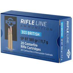 PPU PPU Rifle Line 303 British 180 Grain Soft Point ( 20 Rounds)