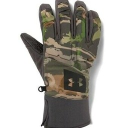 Under Armour Under Armour Men's Mid Season Windstopper Gloves Ridge Reaper Forest Camo