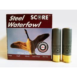 "Score Ammunition Score Ammunition 12 Gauge 3"" 1 1/8 Oz Steel Waterfowl Loads (250 Rounds)"