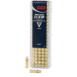 CCI CCI .22LR Mini-Mag 36 Grain Copper-Plated Hollow Point (100 Cartridges)
