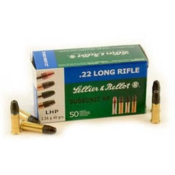 Sellier and Bellot Sellier and Bellot 22 LR 40 Grain SB Standard 50 Cartridges