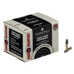 Federal Federal Auto Match  22LR 40 Grain Solid (325 Rounds)
