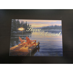 "Imagimex Greeting Cards ""Happy Retirement"" Dock"