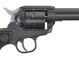"Ruger Wrangler 22LR 4.62"" Black Cerakote 6 Round SA Revolver"