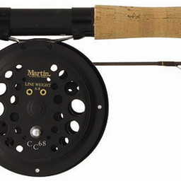 "Martin Fishing Martin Caddis Creek Fly Rod/Reel Combo 9' 5/6"" WT 2-Piece Rod CC68 Single Action/Rim Controlled Fly Reel"