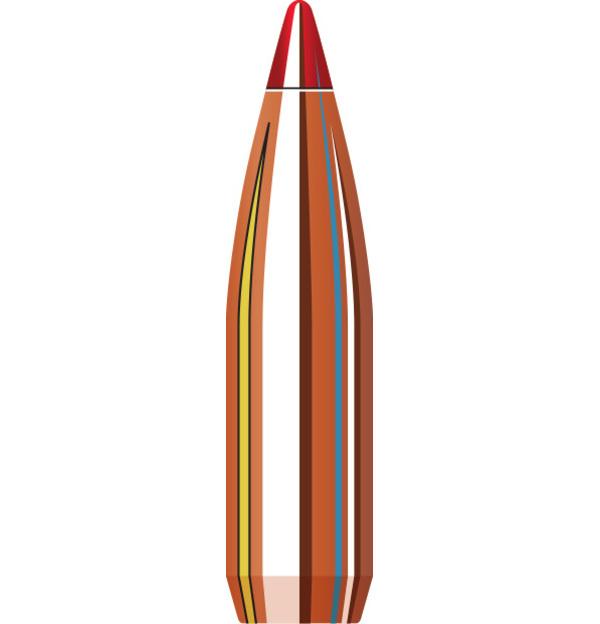 Hornady Hornady V-Max Bullets 25 Cal, 75 Grain (100 Count)