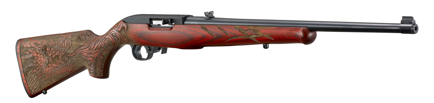 "Ruger 10/22 , 22LR, 18.5"" Barrel, Red Dragon Engraved"