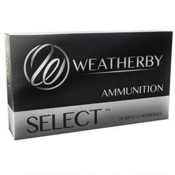 Weatherby Weatherby Select .240 Weatherby Magnum 100 Grain Norma Spitzer (20-Rounds)