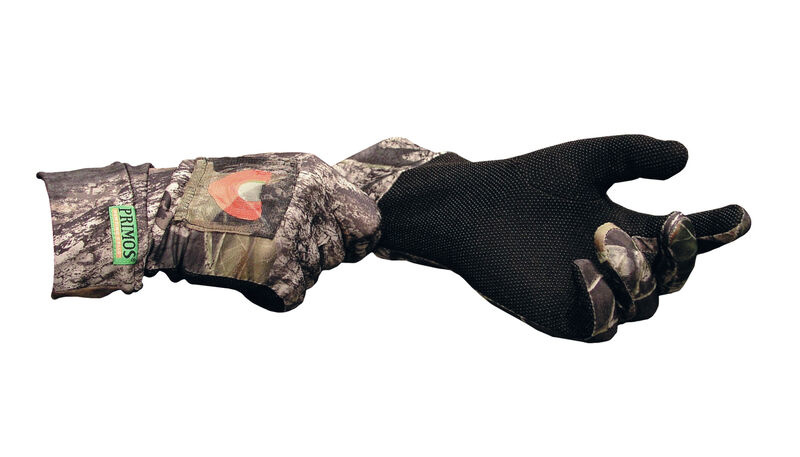 Primos Hunting Primos Stretch Fit Call Gloves Mossy Oak Break Up