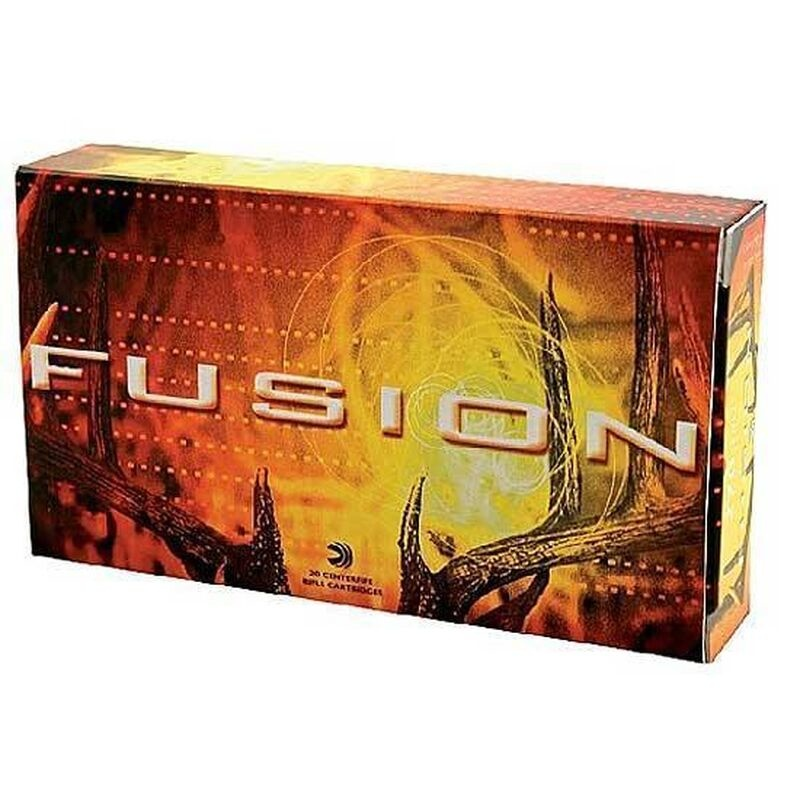 Federal Fusion Federal Fusion 270 Win Bonded Soft Point 130 Grain (20 Rounds)