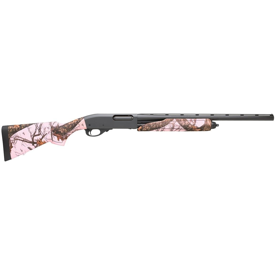 "Remington Remington 870 Compact 20 Gauge 3"" Chamber 28"" Barrel Pink Mossy Oak Camo"