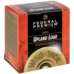 "Federal Premium Federal Premium Upland 20 Gauge, 3"" 1 1/4 oz., #4 Shot"