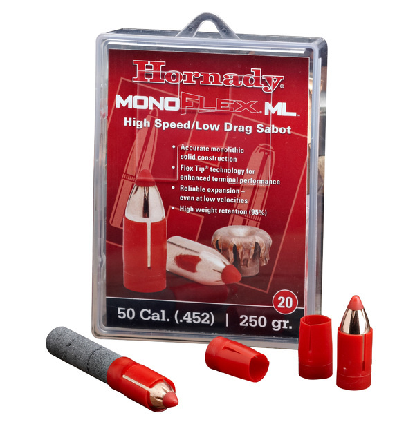 Hornady Hornady Mono Flex ML High Speed Low Drag 50 Cal. 250 Grain Sabot (Qty 20)