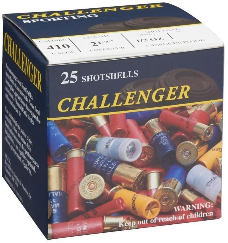 "Challenger Challenger 410 2 1/2"" Game Load Shot #4 1/2oz. (25 Rounds)"