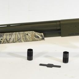 """UG-14010 USED Mossberg 500 12 Gauge 3"""" Special Edition Camo Duck Commander  w/ Original Chokes"""