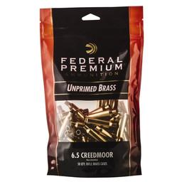 Federal Premium Federal Premium Unprimed Brass 6.5 Creedmoor (50-Count)