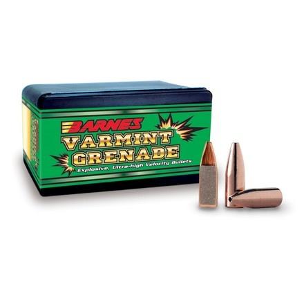 Barnes Varmint Grenade 20 Cal. 204 DIA 26 Grain Hollow Point (250 Projectiles)