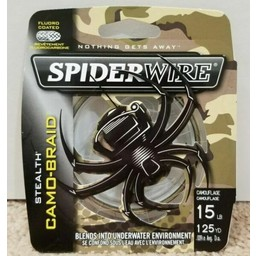 Spiderwire Spiderwire Stealth Camo Braid Fishing Line 15lbs