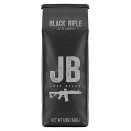 Black Rifle Coffee Company Black Rifle Coffee 12oz Just Black Ground