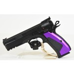 UHG-6946 USED CZ 75 SPO1 UAS Custom Handgun 9mm W/ Custom Grip Panels