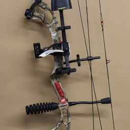 UB-245 USED PSE Surge RTS Compound Bow Package w/ Case Arrows Release Left Hand