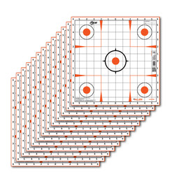 Allen Allen EZ Aim 12x12 Sight In Target (13-Count)