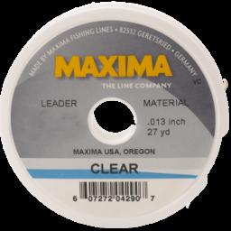 Maxima Maxima 30 lbs Clear Fishing Line