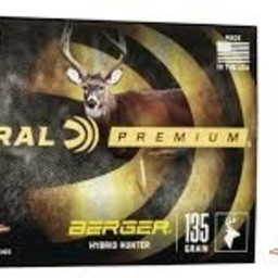 Federal Premium Federal Premium 6.5 Creedmoor Berger Hybrid Hunter 135
