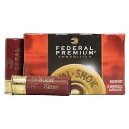 """Federal Premium Federal Premium 12 Gauge 2 3/4"""" Buckshot 9 Pellets-00 Buck 1325fps"""