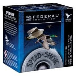 "Federal Federal Speed-Shok Steel 20 Gauge 2 3/4"" #6 Shot (25 Rounds)"