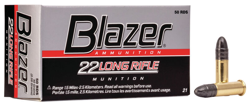 Blazer Blazer Rimfire 22LR Lead Round Nose 40 Grain
