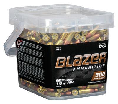 CCI Blazer Brass 9mm Luger Full Metal Jacket