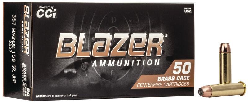 Blazer Blazer Brass .357 Magnum Jacketed Hollow Point 158 Grain