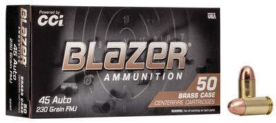 Blazer Blazer Brass .45 Auto Full Metal Jacket 230 Grain