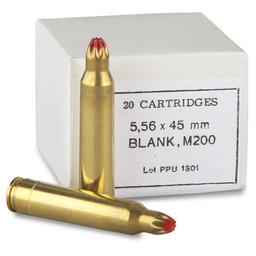 PPU PPU 5.56x45mm Blank M200 Rifle Cartridges (20-Count)
