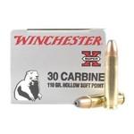 Winchester Super X 30 Carbine 110 Grain Hollow Soft Point