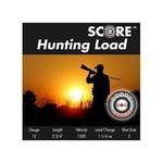 "Score Ammunition 12 Gauge 2 3/4"" 1 1/4 oz Lead Hunting Loads (25 Rounds) #2"