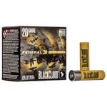 """Federal Premium Black cloud 20 Gauge 3"""" #4 Steel 1350 FPS (25 Rounds)"""