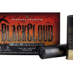 "Federal Federal Premium Black Cloud FS Steel Shotgun Shells 12 Gauge 3"" (25-Rounds)"