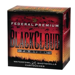"Federal Federal Premium Black Cloud FS Steel  12 Gauge 2 3/4"" (25 Rounds) Shot #3"
