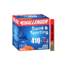 "Challenger Challenger Sporting Shotgun Shells .410 Gauge 3"" (25 Rounds)"