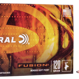 Federal Federal Fusion .25-06 Rem.  Fusion Soft Point (20-Rounds) 120 Grain