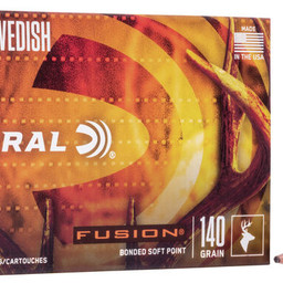 Federal Federal Fusion 6.5x55 Swedish Fusion Soft Point (20-Rounds) 140 Grain