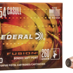 Federal Federal Fusion .454 Casull Fusion Soft Point (20-Rounds) 260 Grain