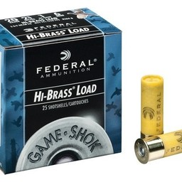 "Federal Federal Game Load Hi-Brass 20 Gauge 2 3/4"" (25-Rounds)"