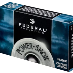 Federal Federal Power-Shok Buckshot Maximum 12 Gauge 2 3/4 (5 Rounds)