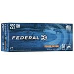Federal Power-Shok .222 Rem Soft Point (20 Rounds) 50 Grain