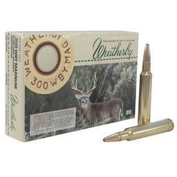 Weatherby Weatherby 300 Wby. Mag. 180 Grain Spitzer